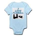 Love Flyball (2) Infant Bodysuit