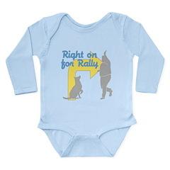 Rally 1 Long Sleeve Infant Bodysuit