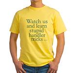 Watch Us Yellow T-Shirt