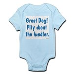 Pity About the Handler Infant Bodysuit