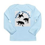 Rescue Dogs Rule Shadow Dogs Long Sleeve Infant T-