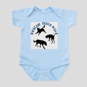 Rescue Dogs Rule Shadow Dogs Infant Bodysuit