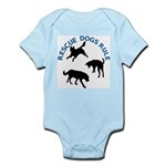 Rescue Dogs Rule Shadow Dogs Infant Bodysuit