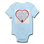 Open Your Heart Infant Bodysuit