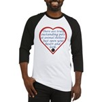 Open Your Heart Baseball Jersey