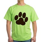 Friendly Paws Green T-Shirt