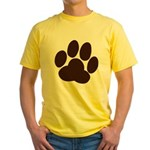Friendly Paws Yellow T-Shirt