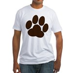 Friendly Paws Fitted T-Shirt