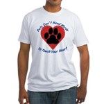 Touch Your Heart Fitted T-Shirt