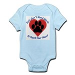 Touch Your Heart (3) Infant Bodysuit