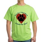 Touch Your Heart (2) Green T-Shirt
