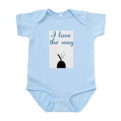 Love the Wag Infant Bodysuit