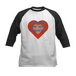 I Share My Heart Kids Baseball Jersey