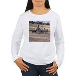 Herding Dog Art Women's Long Sleeve T-Shirt