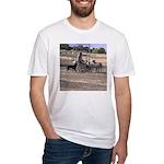 Herding Dog Art Fitted T-Shirt