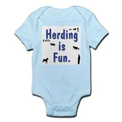 Herding is Fun Infant Bodysuit