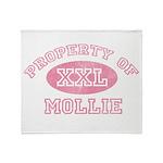 Property of Mollie Throw Blanket