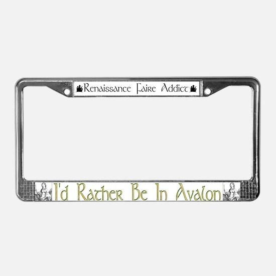 Avalon License Plate Frame