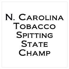 NC Tob Spit Champ Poster