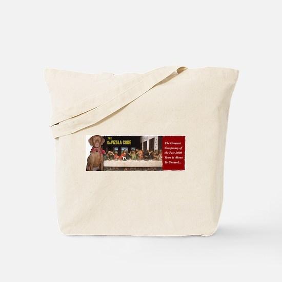 The DaVizsla Code! Tote Bag