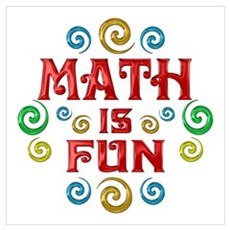Math is Fun Canvas Art