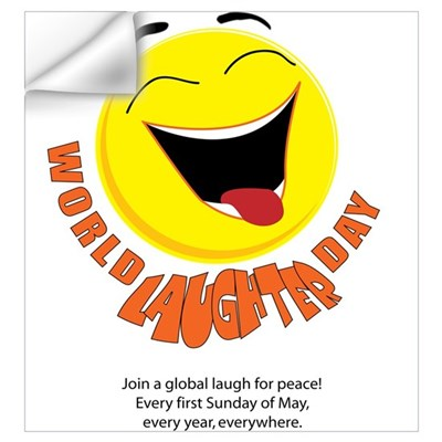 World Laughter Day Wall Decal