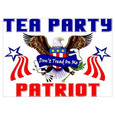 """Tea Party Patriot"" Poster"
