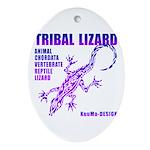 lizard Ornament (Oval)