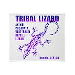 lizard Throw Blanket