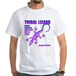 lizard White T-Shirt