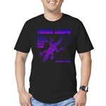 lizard Men's Fitted T-Shirt (dark)