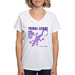 lizard Women's V-Neck T-Shirt