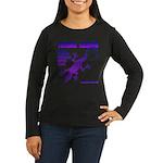 lizard Women's Long Sleeve Dark T-Shirt
