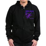 lizard Zip Hoodie (dark)