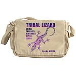 lizard Messenger Bag