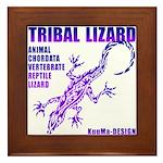 lizard Framed Tile