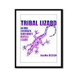lizard Framed Panel Print