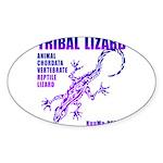 lizard Sticker (Oval 50 pk)