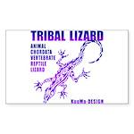 lizard Sticker (Rectangle 10 pk)