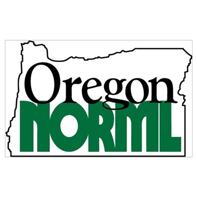 Oregon NORML Logo Canvas Art