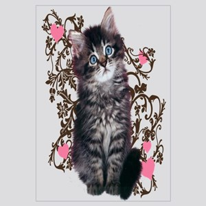 Cute Kitten - kitty cat art