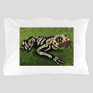 Day of the Dead Frog Pillow Case