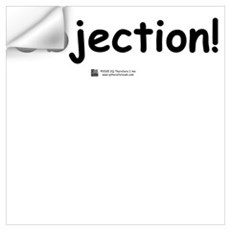 Objection! Wall Decal