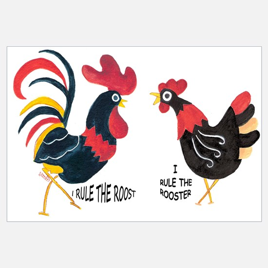ROOSTER RULES HEN RULES