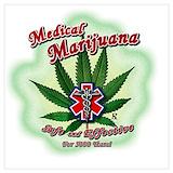 Medical marijuana Posters