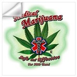 Medical marijuana Wall Decals