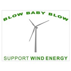 Support Wind Energy Poster