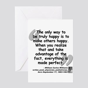 Williams Happy Quote Greeting Card