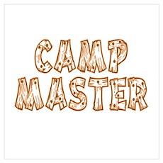Camp Master Poster