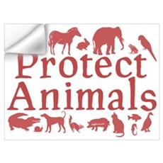 Protect Animals Wall Decal